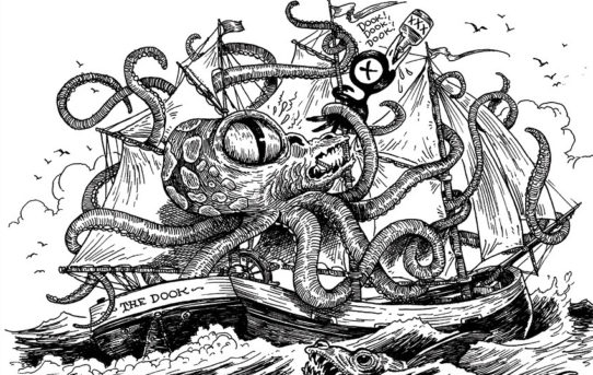 Tony Millionaire's Greatest Sea Monsters Come To BOOM! Studios