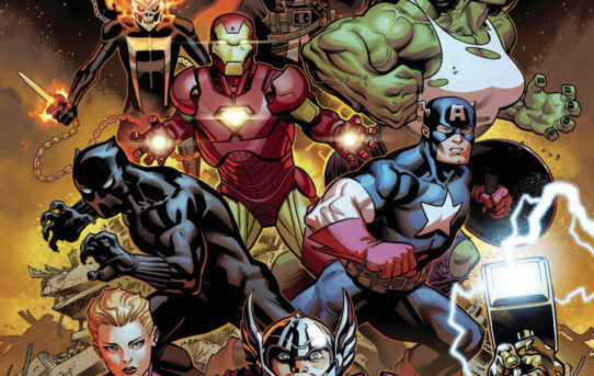 AVENGERS #1 Preview
