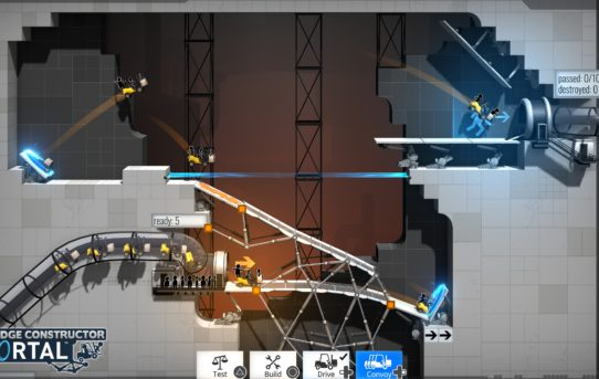 """Bridge Constructor Portal"" Nominated For Best ""Puzzle - Game"" In the 22nd Annual Webby Awards"