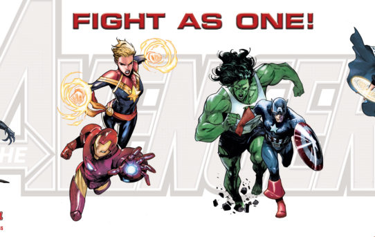 THE AVENGERS WILL FIGHT AS ONE! Introducing the all-new Avengers roster!