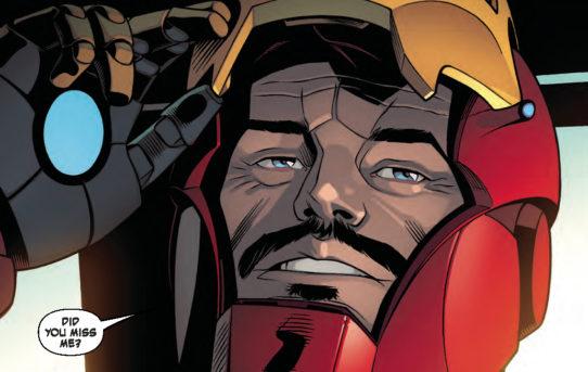 INVINCIBLE IRON MAN #599 Preview