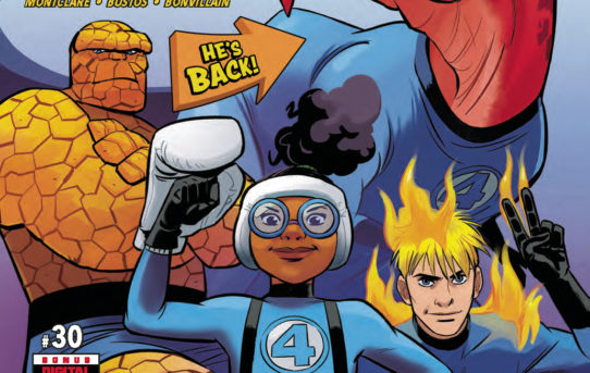 MOON GIRL AND DEVIL DINOSAUR #30 Preview