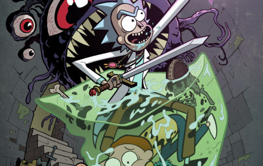 Rick and Morty™ Roll the Dice with Dungeons & Dragons!