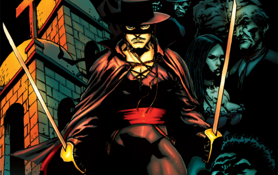 ZORRO, THE LEGENDARY MASKED HERO, RETURNS TO COMICSWITH SUPERNATURAL TERROR TALES