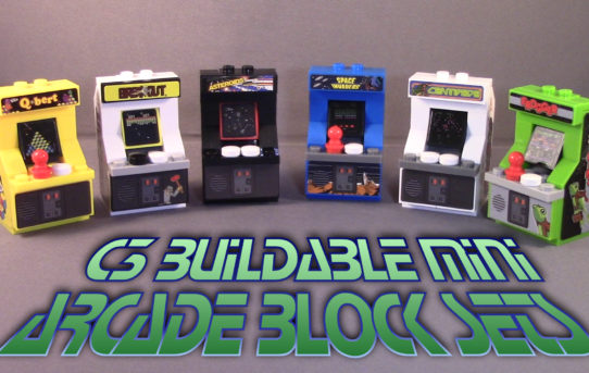 C3 Buildable Mini Arcade Block Sets