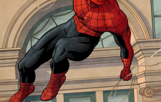 Celebrate AMAZING SPIDER-MAN's Landmark 800th Issue With A Variant Cover by Paolo Rivera!