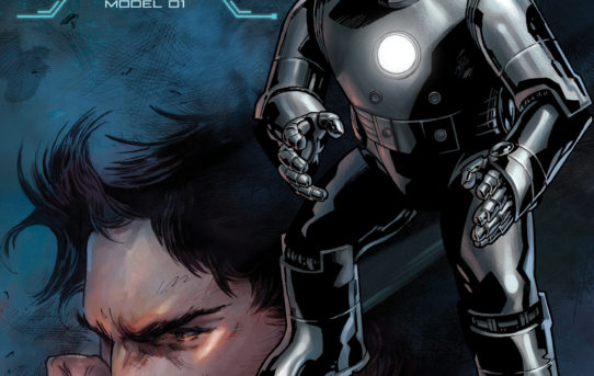 Tony Stark Iron Man #1 Debuts With The Many Armors of Iron Man Variant Covers!