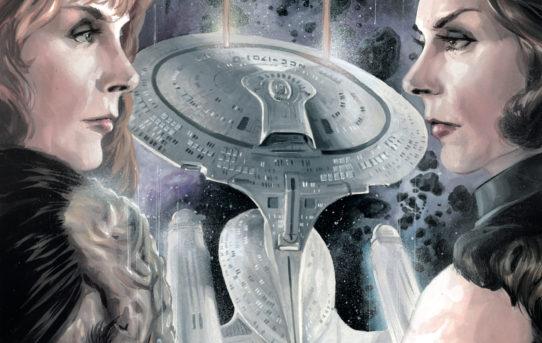 STAR TREK TNG THROUGH THE MIRROR #5 Preview