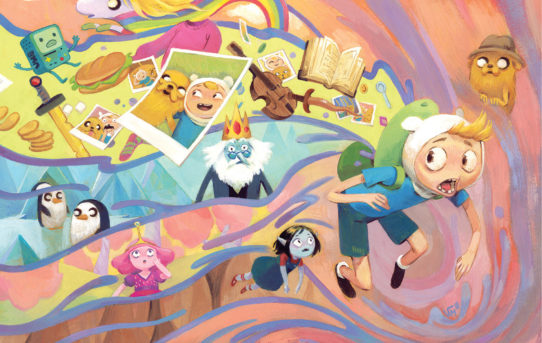 "KaBOOM! Summer Blast: Your First Look At New Comic Book Series ""Adventure Time: Beginning Of The End"""