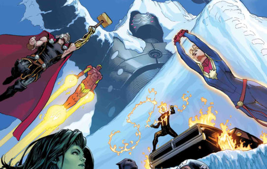 A New Chapter For Earth's Mightiest Heroes Begins in AVENGERS #8!