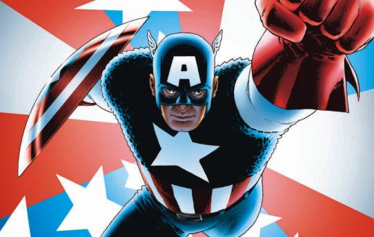 Marvel Reveals New CAPTAIN AMERICA #1 Variant Art by John Cassaday!