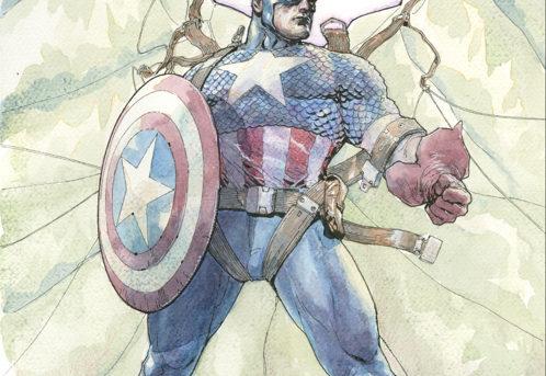 Marvel Reveals New CAPTAIN AMERICA #1 Variant Art by Leinil Yu!
