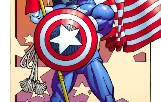 Marvel Reveals New CAPTAIN AMERICA #1 Variant Art by Frank Miller!
