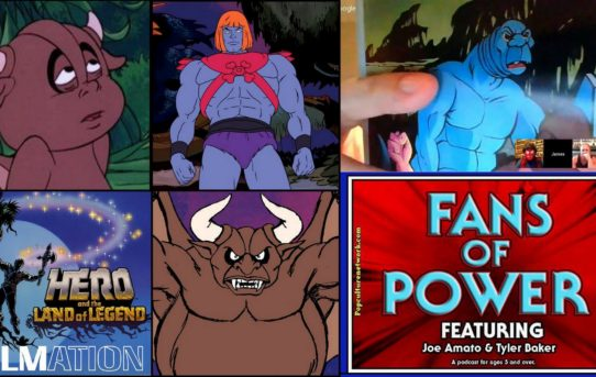 Fans Of Power Episode 134 - James Eatock Returns! He-Ro Land of Legend, Daimar The Demon Commentary!