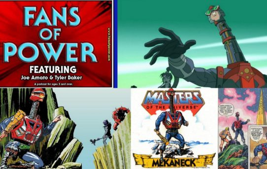 Fans Of Power Episode 135 - Toy Placement In 'Toons, Mekaneck, C.G. Storybook