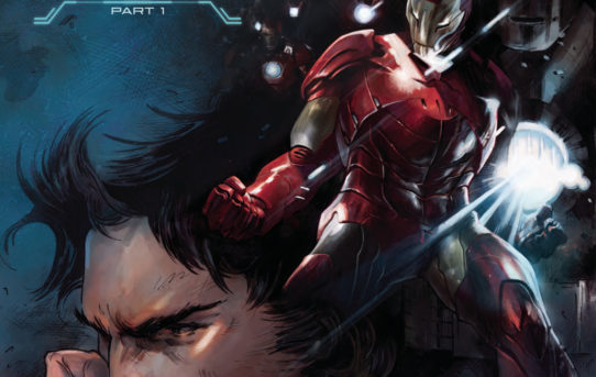 TONY STARK IRON MAN #1 Preview
