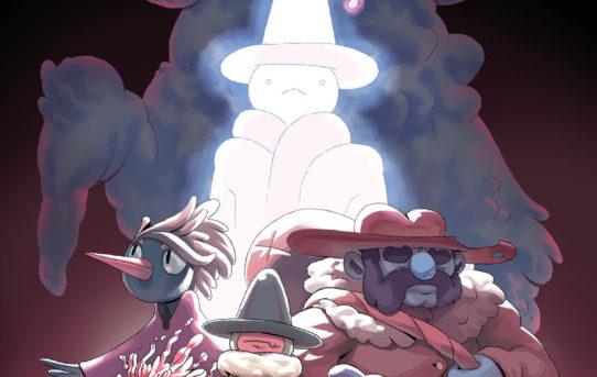 BOOM! Studios Announces THE GREAT WIZ AND THE RUCKUS Original Graphic Novel