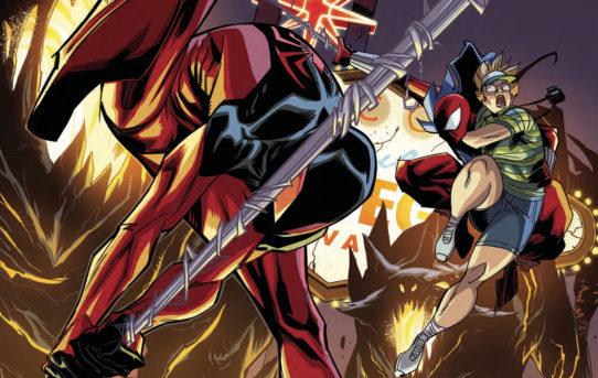 BEN REILLY SCARLET SPIDER #22 Preview