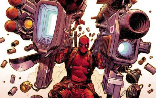 deadpool(2018) comic #2 cosmic calamity ile ilgili görsel sonucu