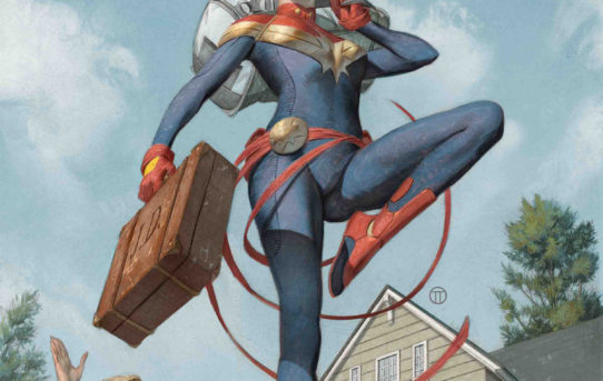 LIFE OF CAPTAIN MARVEL #1 Preview