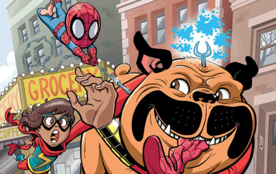 MSH ADVENTURES MS MARVEL TELEPORTING DOG #1 Preview