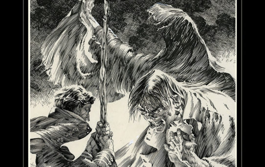 Bernie Wrightson's FRANKENSTEIN Showcased in Upcoming IDW Artist's Edition
