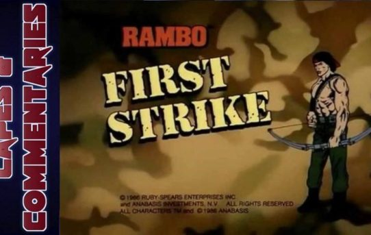 "Capes and Commentaries #16 - Rambo: The Force of Freedom ""First Strike"""