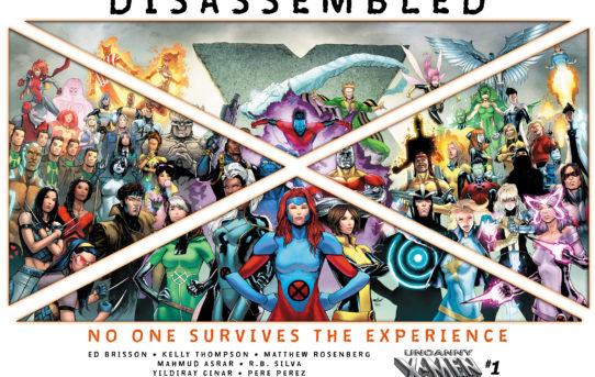 The UNCANNY X-MEN…Disassembled!