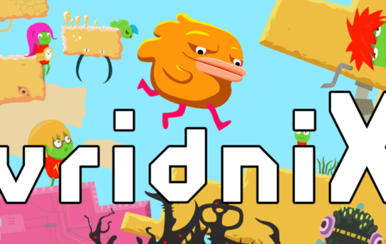 World Spinning 2D Platformer vridniX has Launched on Steam