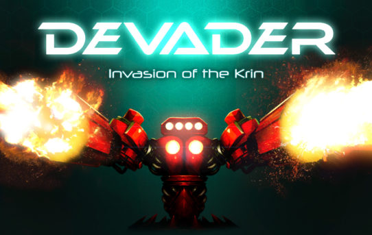 Pass By and See Falkenbrew, Developer of Devader - Invasion of the Krin, at Gamescom 2018