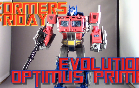 Formers Friday - Evolution Optimus Prime