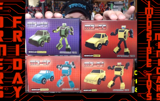 Formers Friday - Impossible Toys Minicars!