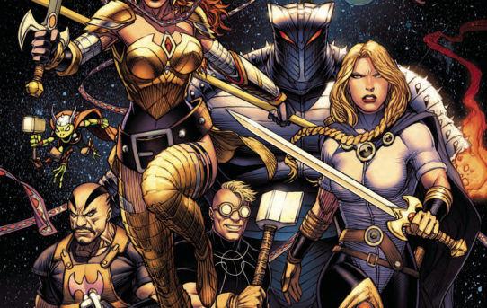 ASGARDIANS OF THE GALAXY #1 Preview