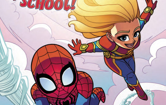 MSH ADVENTURES CAPTAIN MARVEL FIRST DAY OF SCHOOL #1 Preview