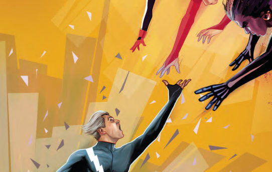 QUICKSILVER NO SURRENDER #5 (OF 5) Preview