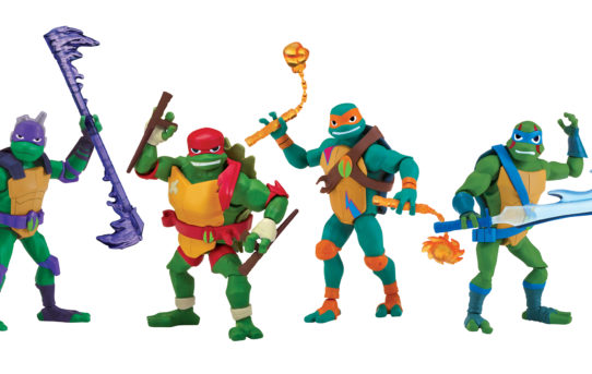 All-New Teenage Mutant Ninja Turtles Toys Rise To Retail Stores