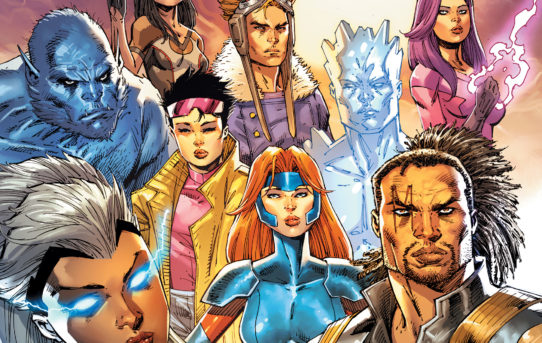 Marvel Reveals New UNCANNY X-MEN #1 Cover from Rob Liefeld!