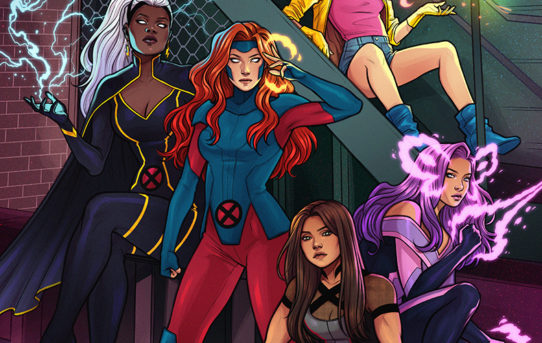 Marvel Reveals New UNCANNY X-MEN #1 Cover from Jen Bartel!