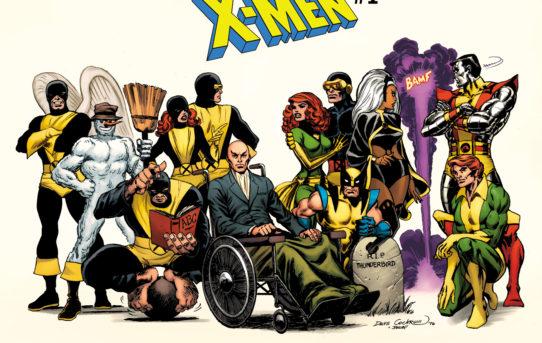 Marvel Reveals New UNCANNY X-MEN #1 Hidden Gem Cover from Dave Cockrum!