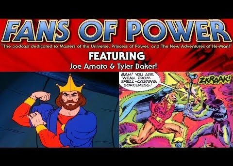 Fans of Power Episode 149 - Character Spotlight: King Randor & Demons of the Deep Review