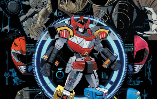 Your First Look at SABAN'S GO GO POWER RANGERS #13 from BOOM! Studios