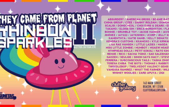 Clutter Gallery - Horrible Adorables & Planet Rainbow Sparkles 2, Opening this weekend!