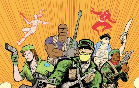 Michel Fiffe Takes Command with All-New G.I. JOE: SIERRA MUERTE Miniseries