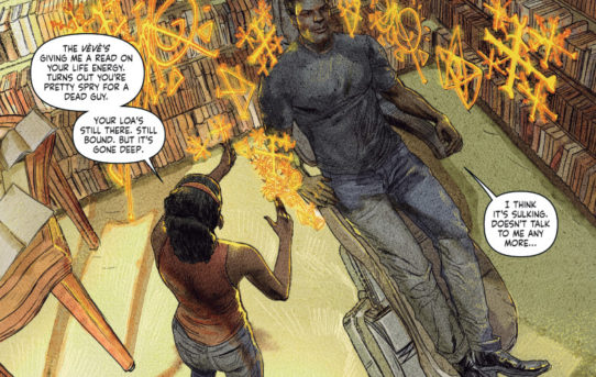 """First Look: SHADOWMAN #8 – Andy Diggle and Renato Guedes Dig Up """"RAG AND BONE,"""" on Sale This October!"""