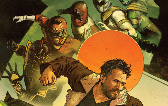 Your First Look At The Untold Story Of The Legendary Green Ranger from BOOM! Studios