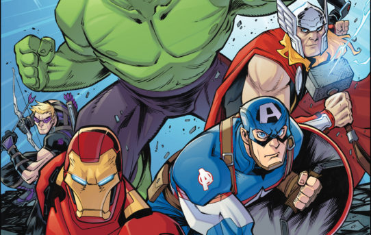 IDW Announces All-Ages MARVEL ACTION: AVENGERS #1 Creative Team