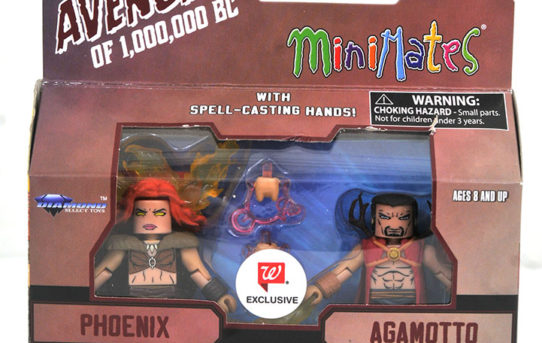 Diamond Select Toys – Avengers 1,000,000 B.C. Minimates Arrive At Walgreens Stores