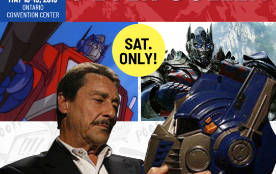 PETER CULLEN JOINS THE COMIC REVOLUTION IN ONTARIO, CALIFORNIA