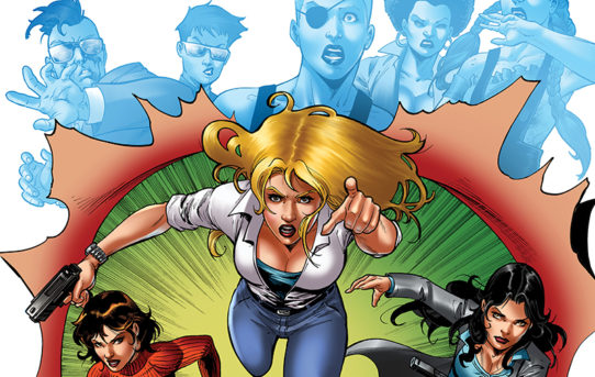 CHARLIES ANGELS #5 Preview