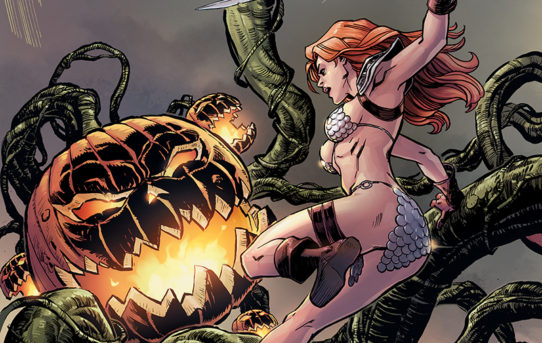 RED SONJA HALLOWEEN SPECIAL Preview